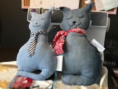Knuffels Meneer en Mevrouw Kat